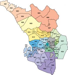 Peta Kawasan DUN Selangor