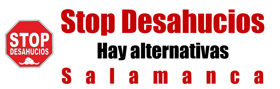 ¡STOP DESAHUCIOS!