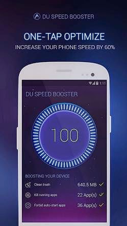 تحميل برنامج تسريع وصيانة النظام لاجهزة اندرويد - DU Speed Booster