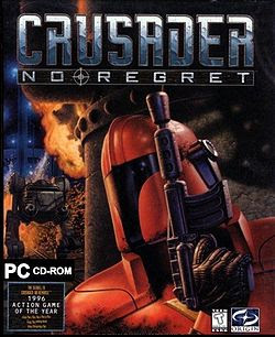 Crusader no regret pc game cover old school