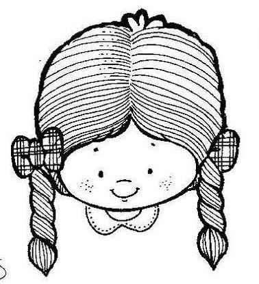 Mi colección de dibujos: caritas de niños y niñas