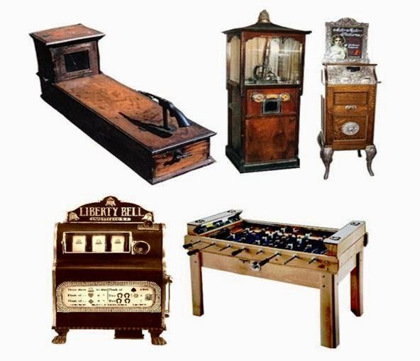 1 Máquinas recreativas: Historia y evolución