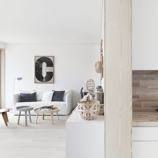 Bright and natural apartment for sale in Stockholm area, real estate Folkhem, ©Petra Bindel