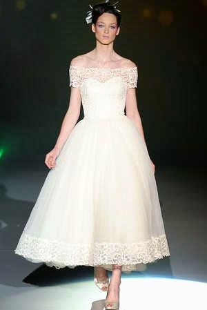 vestidos de novia: aÑos 50