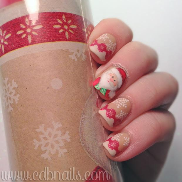 cdbnails 12 days of christmas