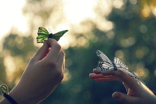 Cuando vuelves con algo que perdistes ,te da más ilusión que cuando lo tenías.