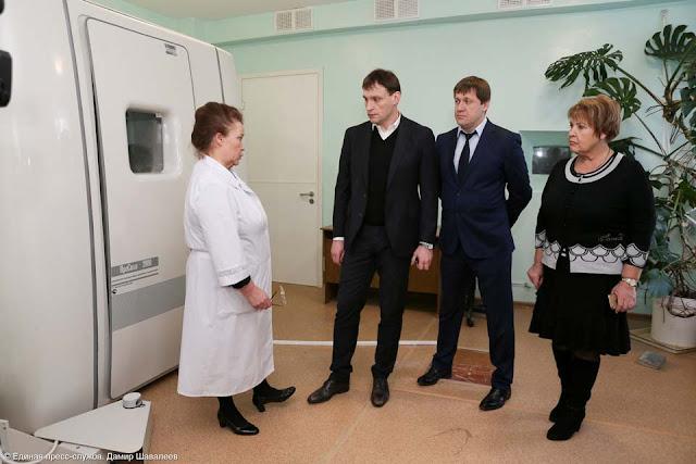 В 2016 году оснащение Сергиево-Посадской детской поликлиники современным оборудованием будет завершено.