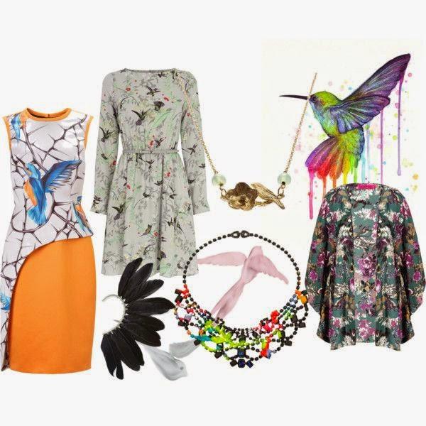 Bird inspired fashion wishlist