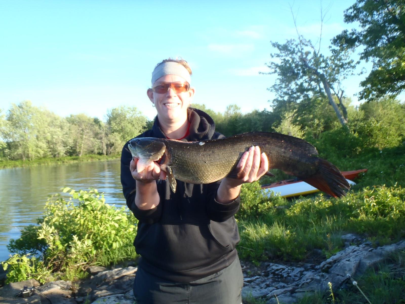 Flyyak black lake ny 2012 part three for Freshwater fishing ny