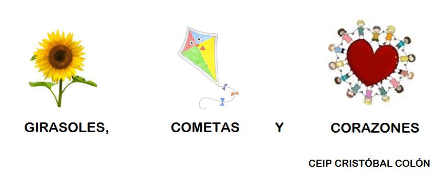 GIRASOLES, COMETAS Y CORAZONES