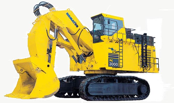 Komatsu Excavators PC3000-6