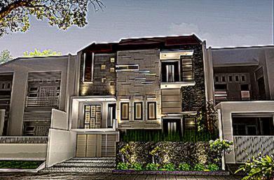 Gambar Rumah Modern Minimalis   Rumah Minimalis Indo