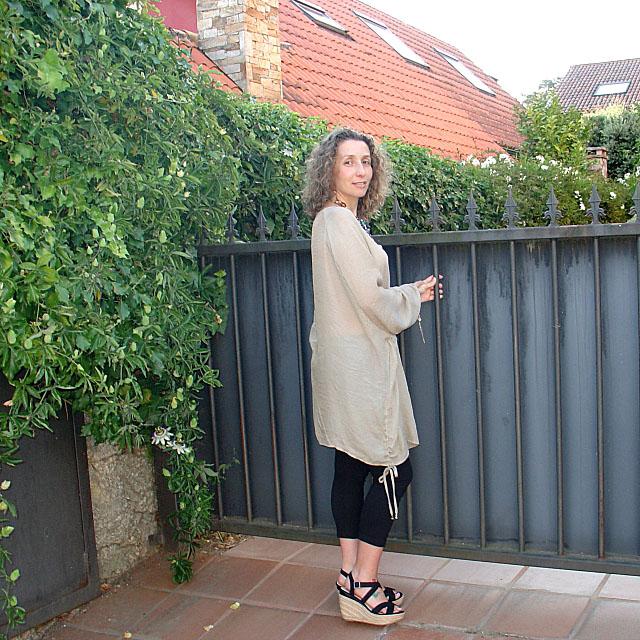 Túnica oversize-Oversized tunic. Visit www.forarealwoman.com  #moda #fashion #blogger #ootd