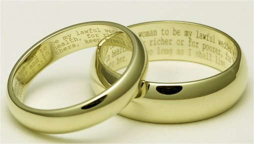 Wedding Vow Idea
