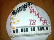 Torta klavír