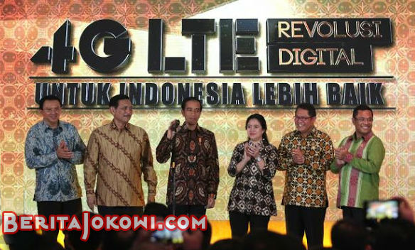 Presiden Jokowi Luncurkan Jaringan 4G LTE, Singapura Jadi Was-Was