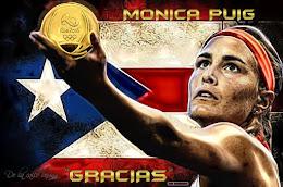 """Monica Puig """"Gracias"""""""