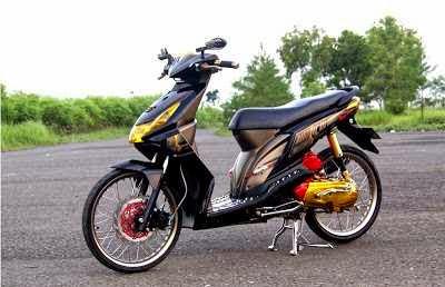 Modifikasi standar Honda Beat