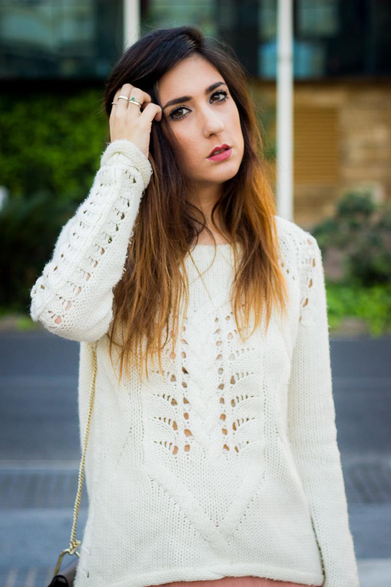 cozy cream sweater