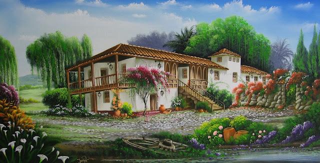 cuadros-paisajes-colombianos-al-oleo