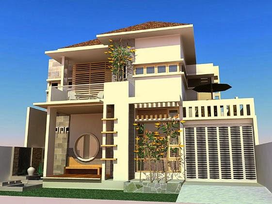 desain rumah mewah keren 2 Lantai - gambar 08