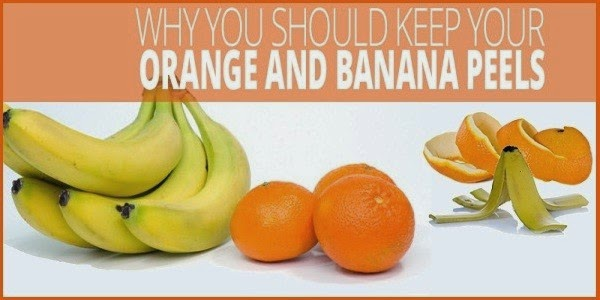 Amazing Uses of Orange or Banana Peels