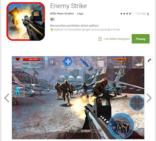 enemy strike game android