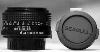 body dan lenscap asli Seagull