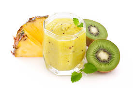 jugo antioxidante de kiwi y piña