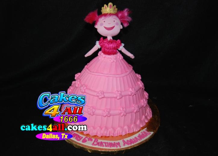 Cakes 4 All In Dallas Pinkalicious Doll Cake Dallas