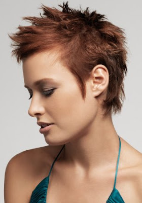 Short Spiky Hairstyles for Women