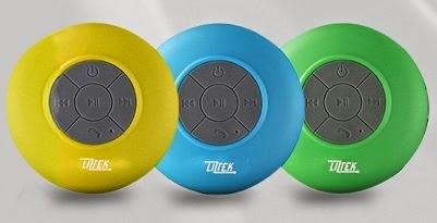 Liztek JSS-100 HD Water Resistant Bluetooth 3.0 #ShowerSpeaker