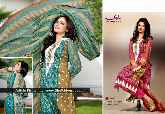 Sindhi and Rajasthani Texture Prints on Marvi Lawn