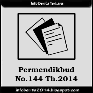 Permendikbud No.144 Th.2014