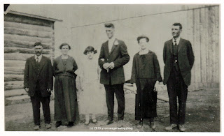 Eugene and Juliette Desgroseilliers on their wedding day in 1925