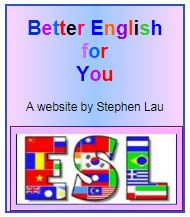 <b>BETTER ENGLISH FOR YOU</b>