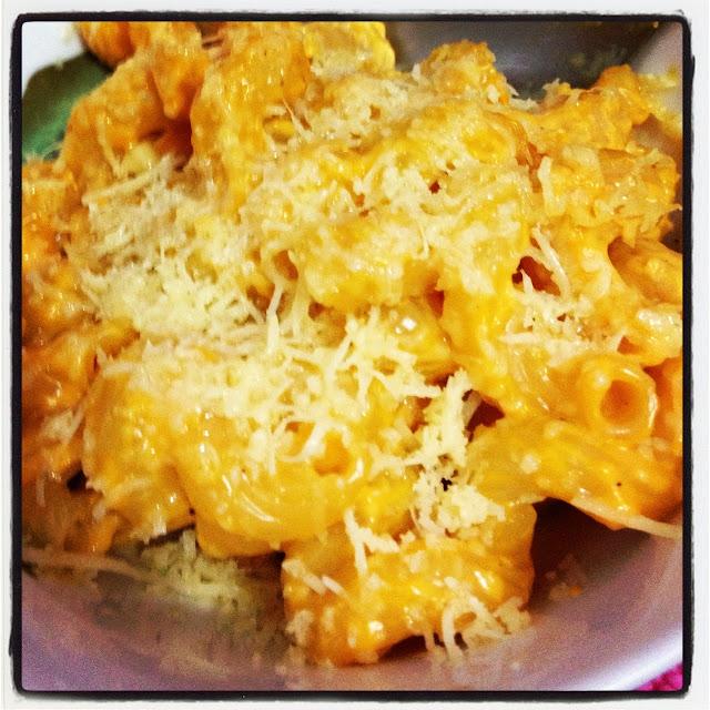 Pra janta: Mac n' cheese