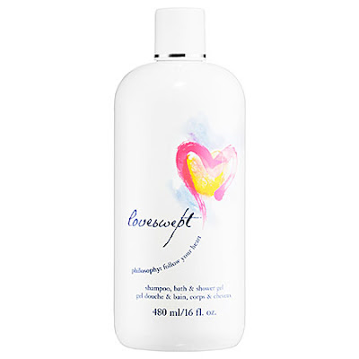 Philosophy, Philosophy 3-in-1, Philosophy Loveswept, shower gel, body wash, bubble bath, shampoo