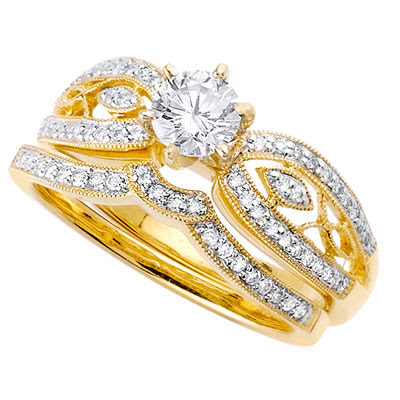 Gold wedding rings for women for Wedding gold rings for women