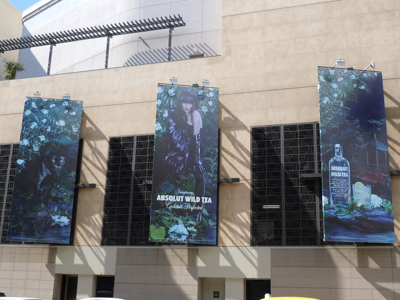 Absolut Vodka Wild Tea billboards