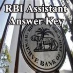 RBI Answer Key
