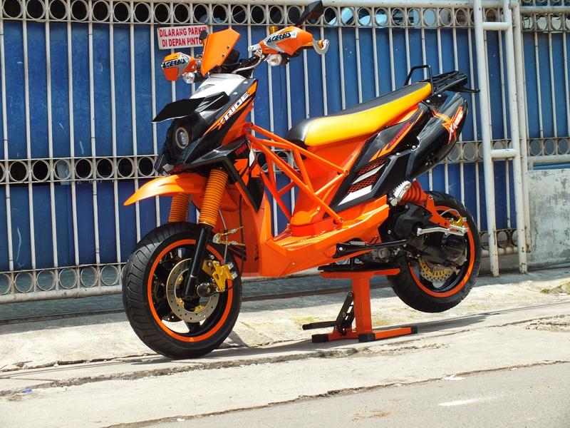 Kumpulan Foto Modifikasi Motor Yamaha X Ride Terbaru