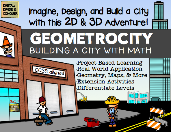 how to build 3d model city for school project