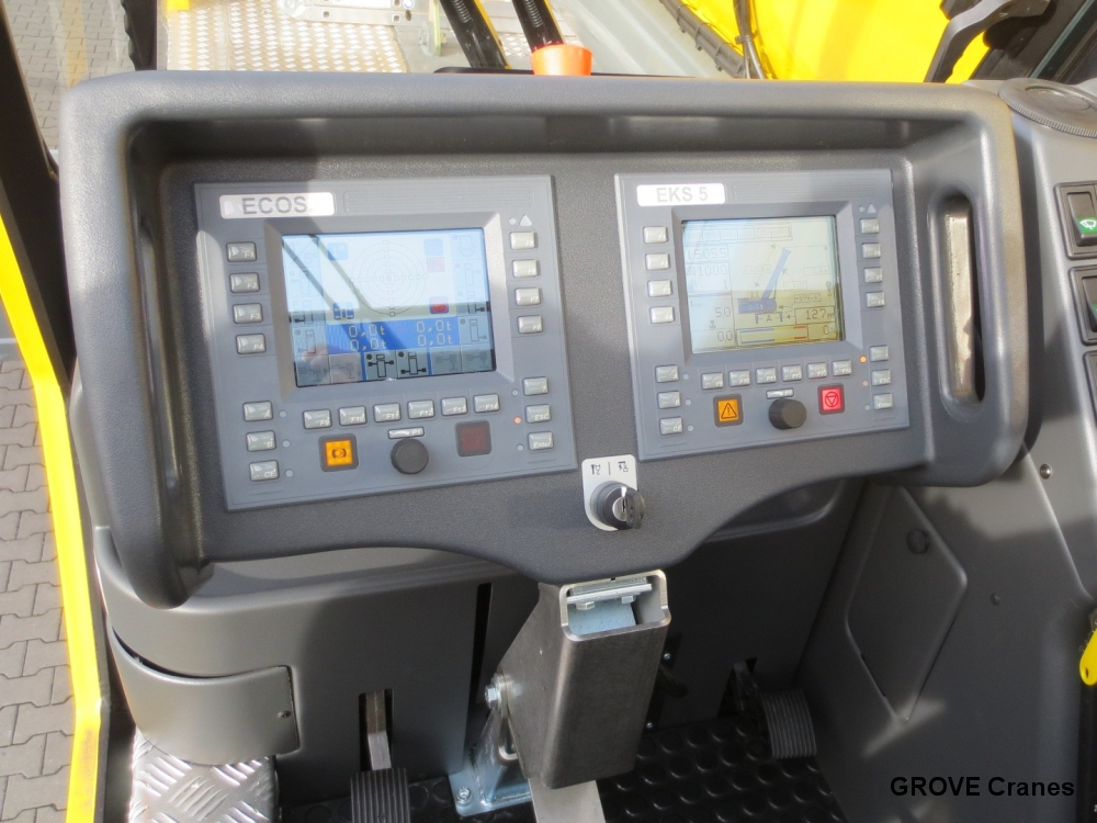 Safe Load Indicator Systems : Grove cranes