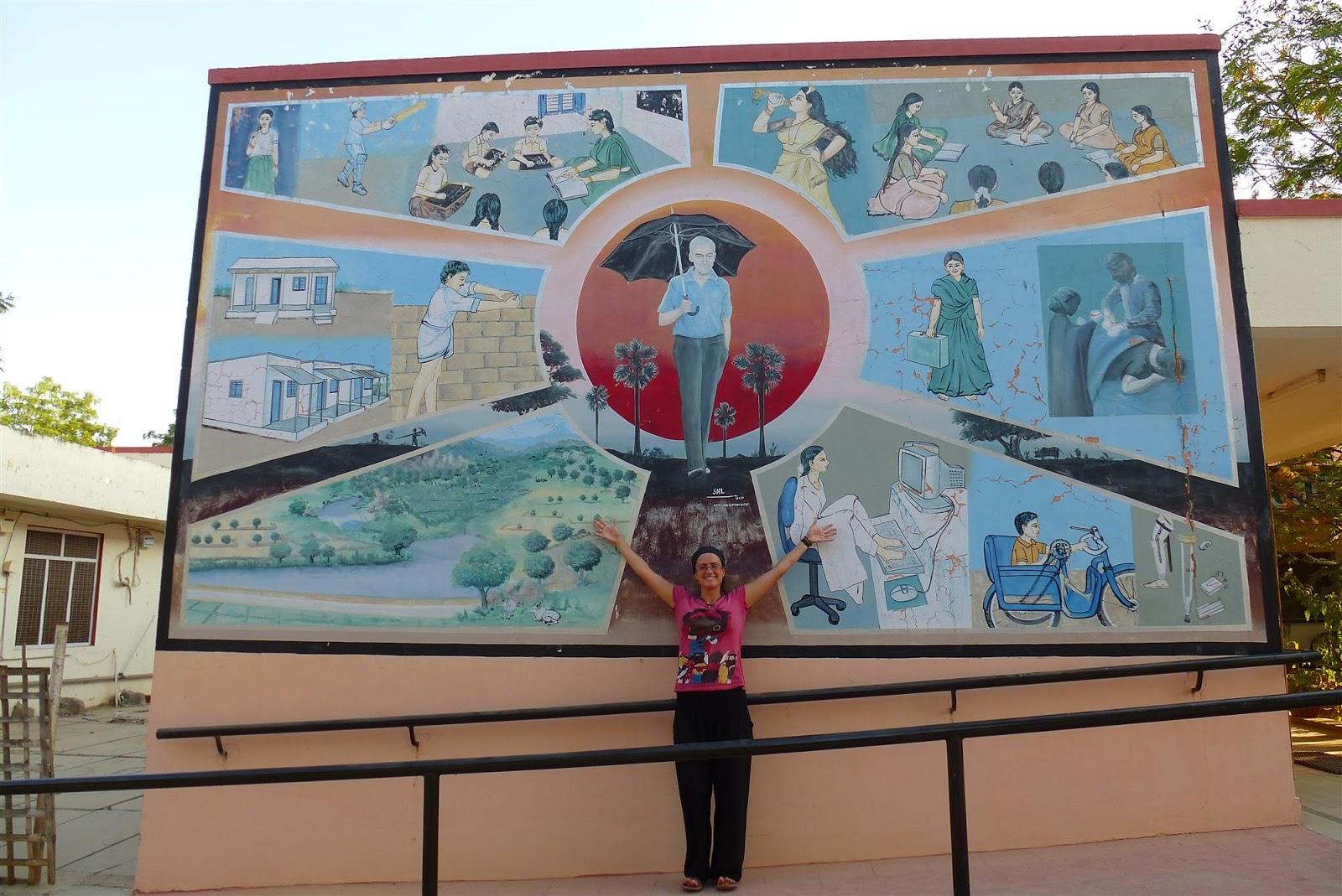 Visitar la Fundacion Vicente Ferrer - La Aventura de Pablo y Elena