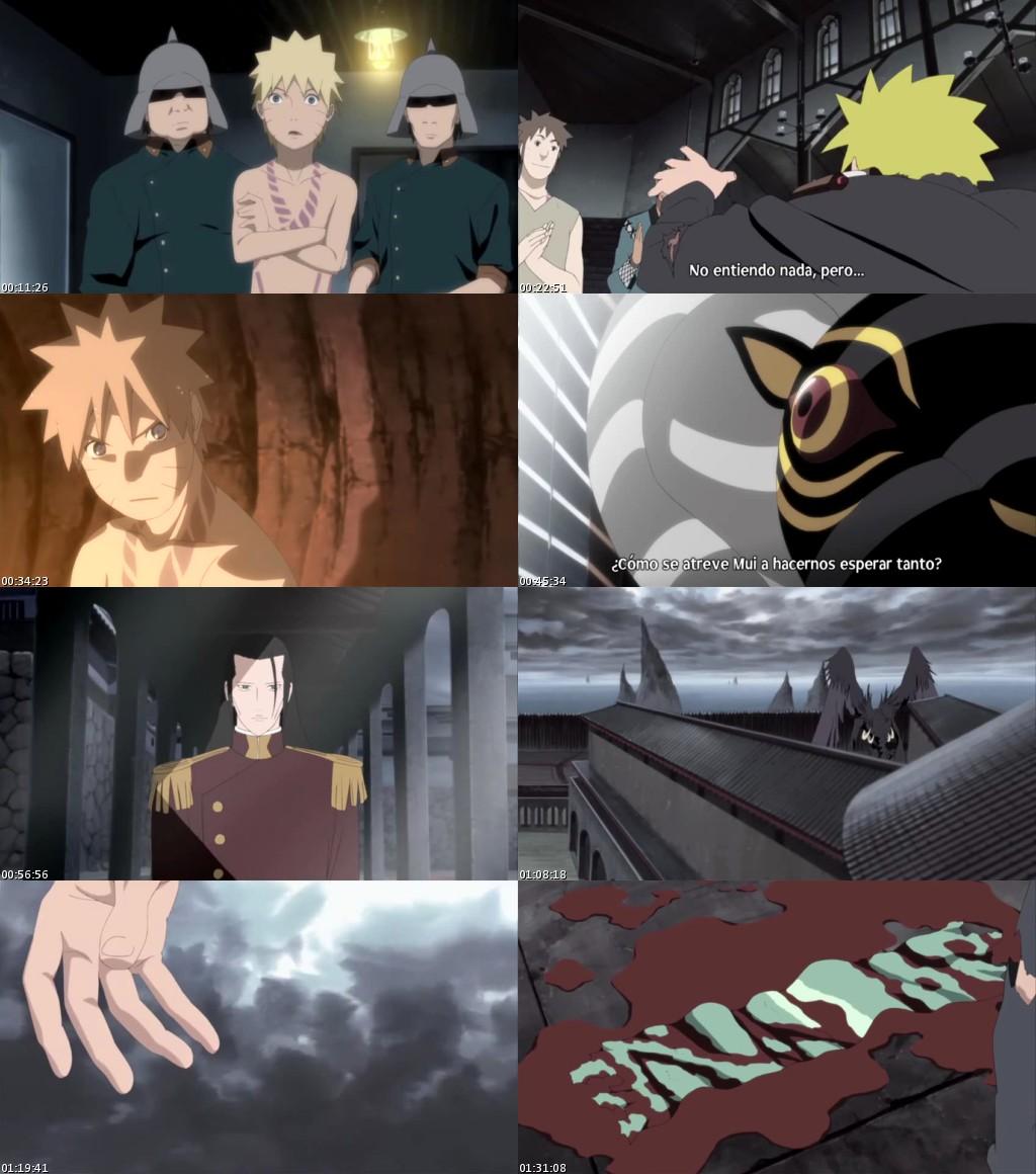 Naruto Shippûden 5: Blood Prison (2011) [DVDRip] [Sub. Español]