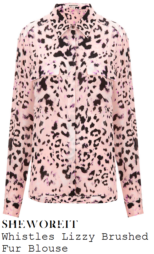katy-b-nude-pink-and-black-leopard-animal-print-long-sleeve-button-up-collared-shirt-blouse-fran-butler-party