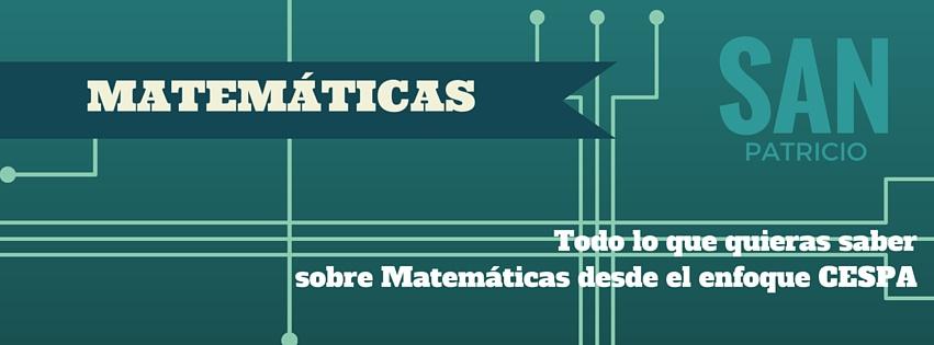 Matemáticas San Patricio