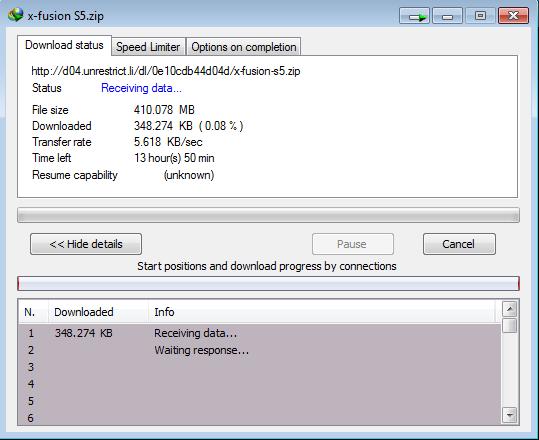 Cara download file di Mega.Co.Nz 6