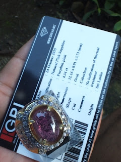 Srilanka Pink Sapphire